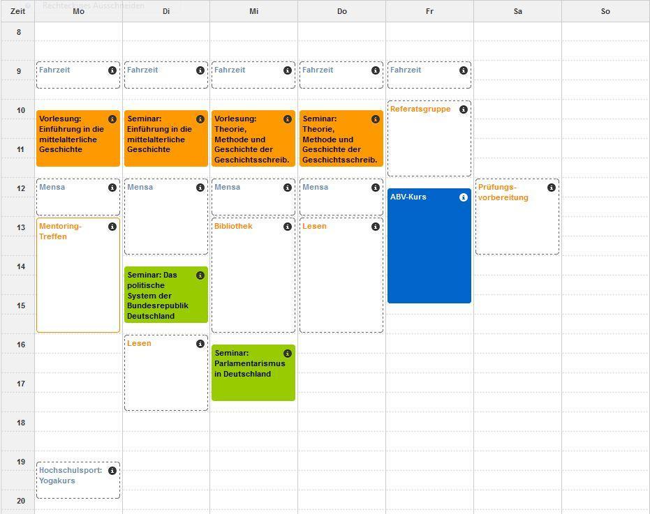 Stundenplan Veterinärmedizin Fu Berlin