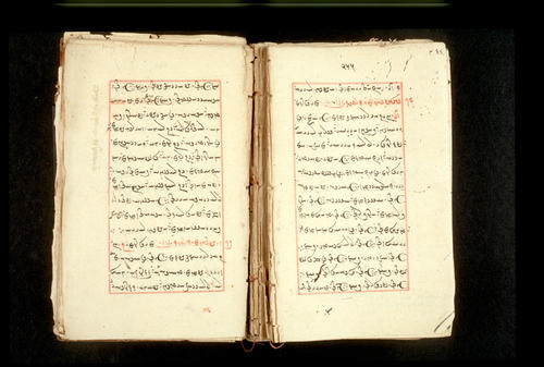 Folios 255v (right) and 256r (left)