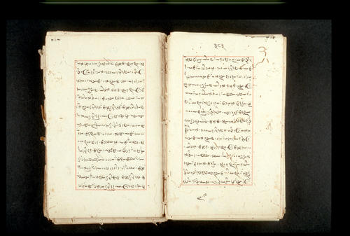 Folios 383v (right) and 384r (left)