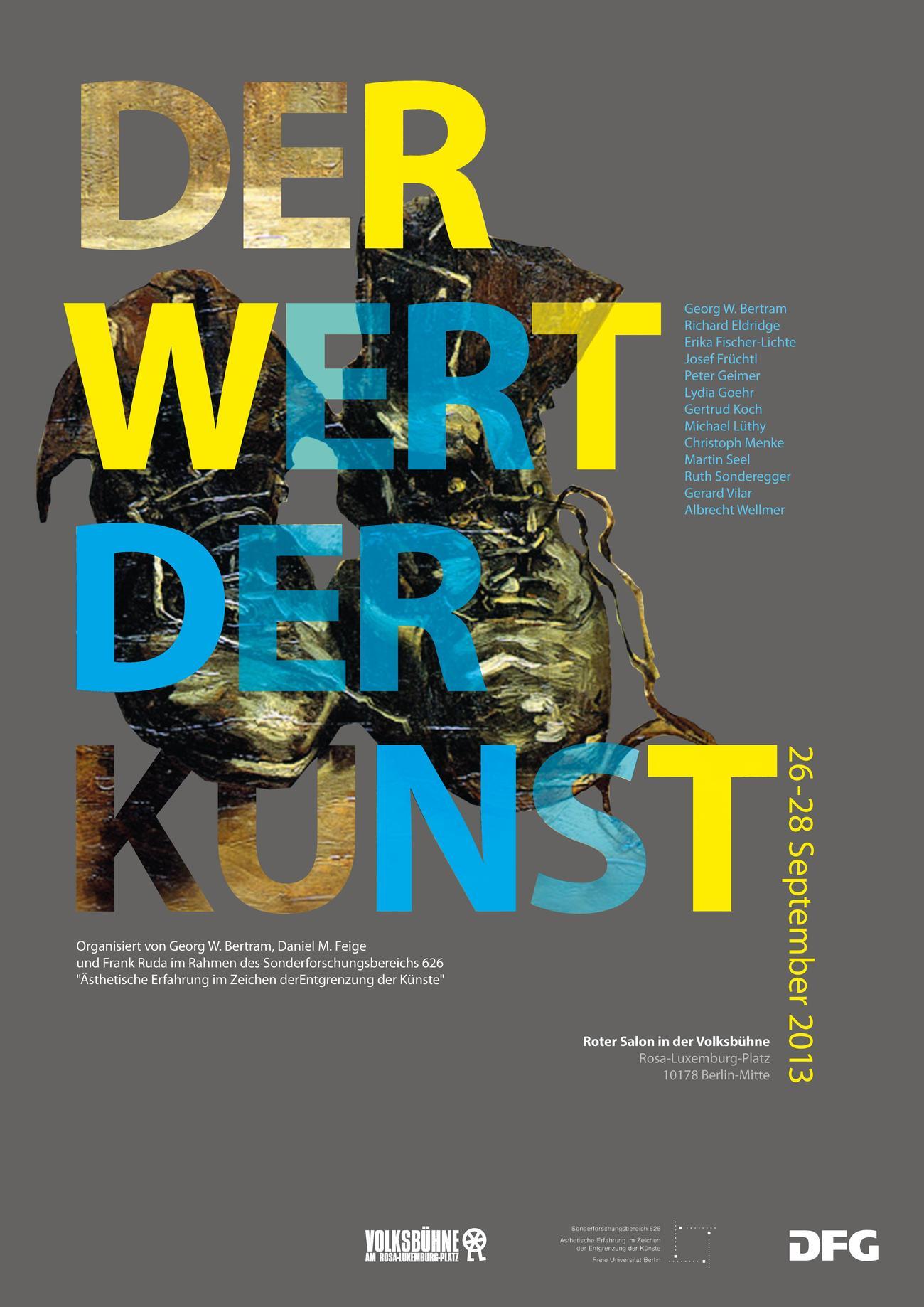 Der Wert der Kunst • Sonderforschungsbereich 626 - Ästhetische ...
