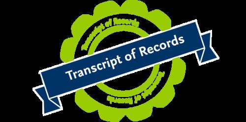 Transcript Of Records Fu Berlin